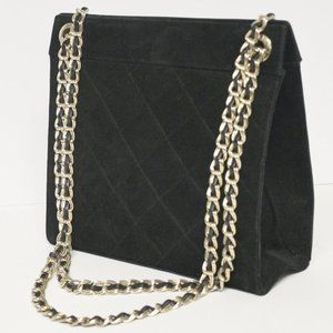 Vintage Quilted 24K Chain Strap Convertible Bag